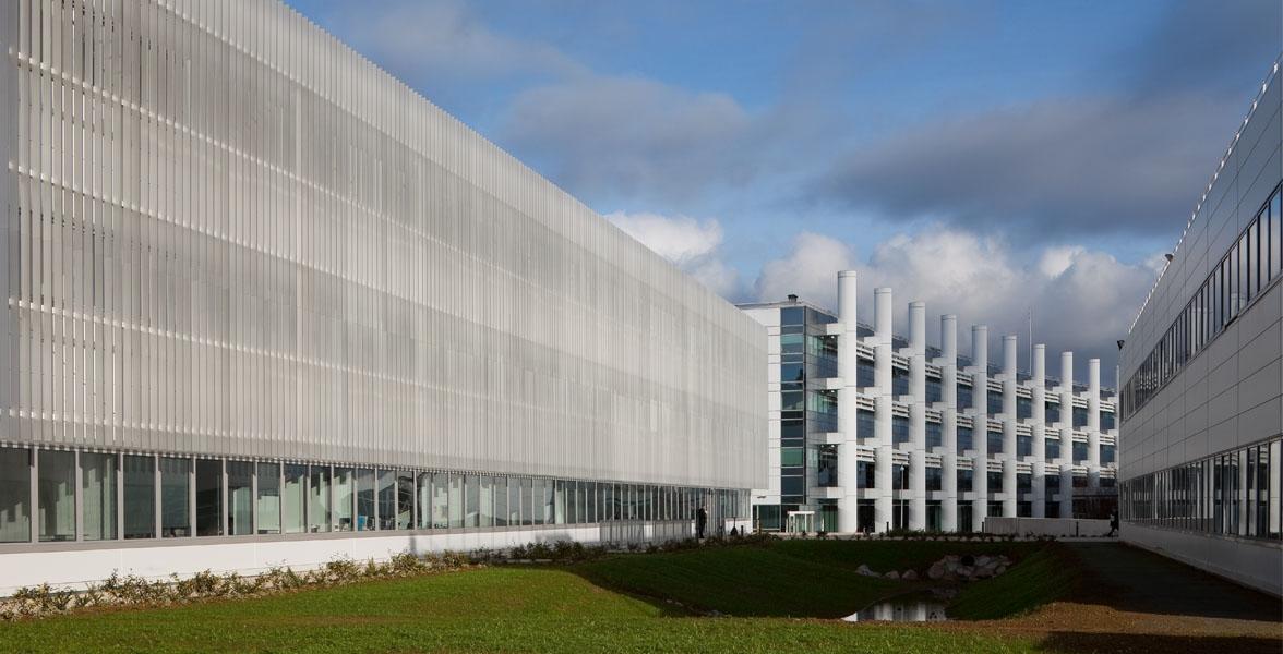 Bureaux et laboratoires pour le groupe EADS - Bâtiment THPE | Elancourt (78)