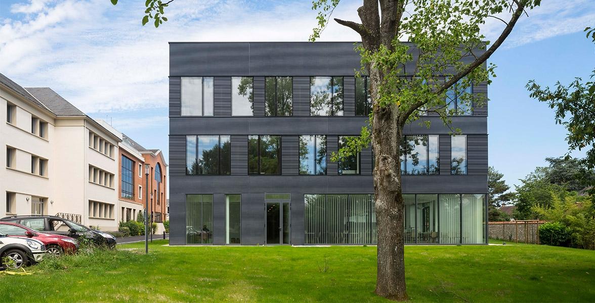 Création d'un immeuble de bureau et restaurant d'entreprise. | Mer Loir-et-Cher (41)
