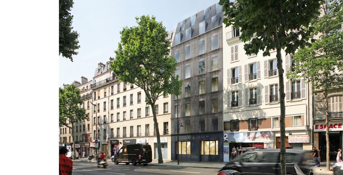 Hôtel 4 étoiles avenue de Clichy   Paris (17è)