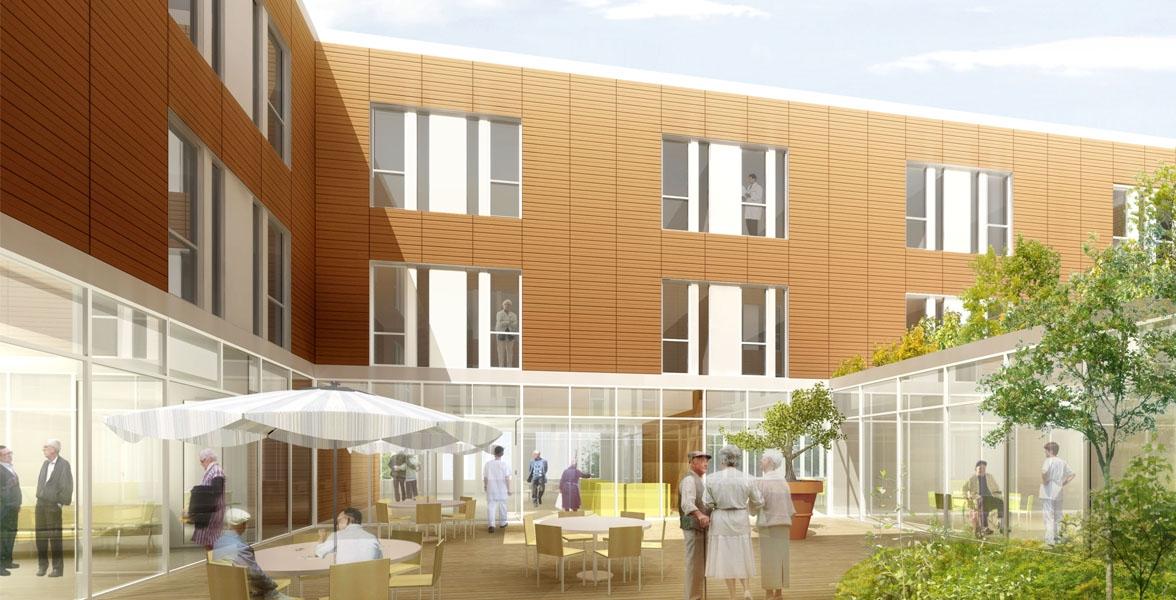 Institut th rapeutique ehpad garches 92 serau architectes et ing nieurs associ s - Cuisine therapeutique ehpad ...