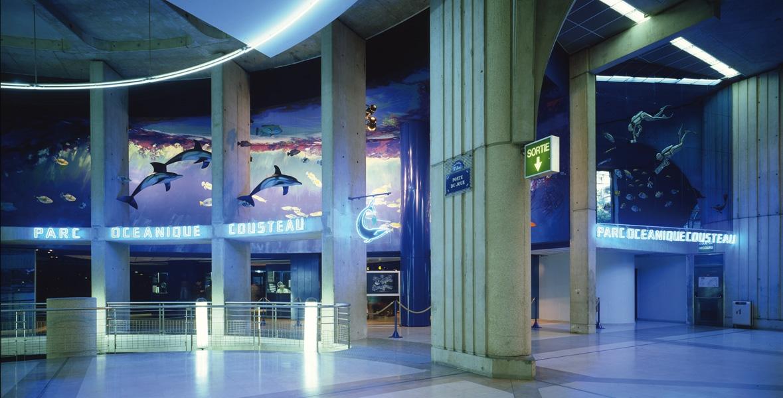 Parc océanique Cousteau forum des Halles   Paris 1er
