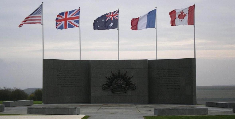 Reconstruction du Mémorial australien   Le Hamel (80)