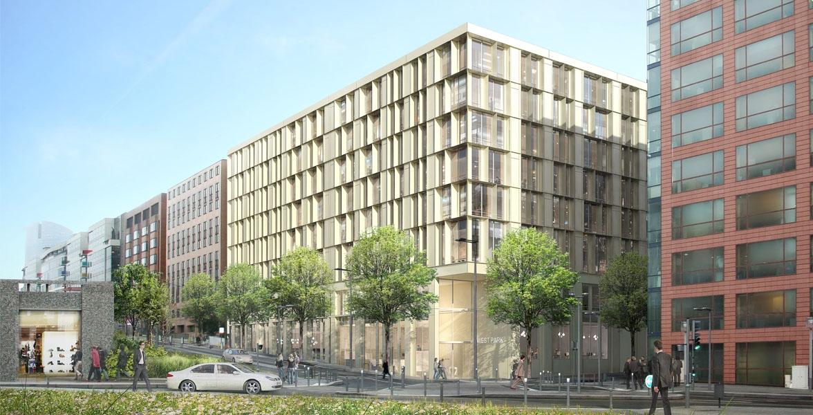 restructuration d'un immeuble de Bureau + commerces - HQE BREAM | Nanterre (92)